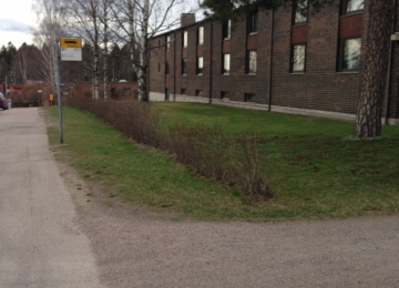B-huset-bushållplatsen